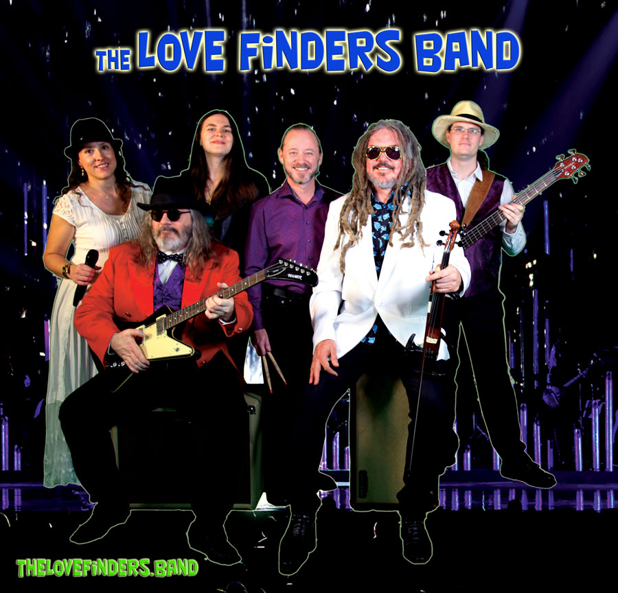 The Love Finders Band Homepage